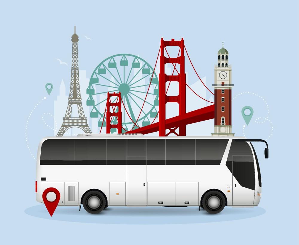 Pohodlná autobusová doprava kvalitními autobusy JAPARCAR